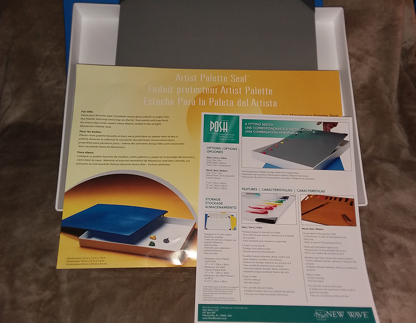 Palette-Box